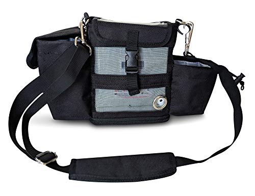 Carry Bag for Inogen One G4 & Oxygo Fit Oxygen Concentrator/Room for Cords, Cell Phone & More!