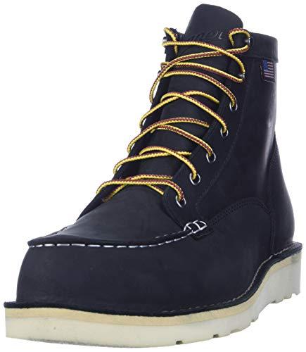 "Danner Men's 15568 Bull Run Moc Toe 6"" Work Boot, Black - 11 D"