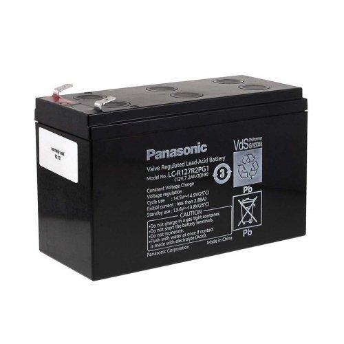 Panasonic Batteria ricaricabile al piombo LC-R127R2PG1 12V / 7,2Ah - USV