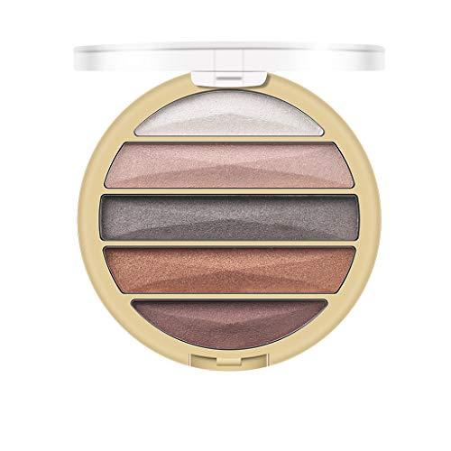 Nourich Femmes cosmétiques yeux ombre couleur maquillage paillettes poudre à paupières Mat Shimmer Fard À Paupières Set Poudre Fard À Paupières Pigmentée Naturel Mélange Yeux Maquillage (01#)
