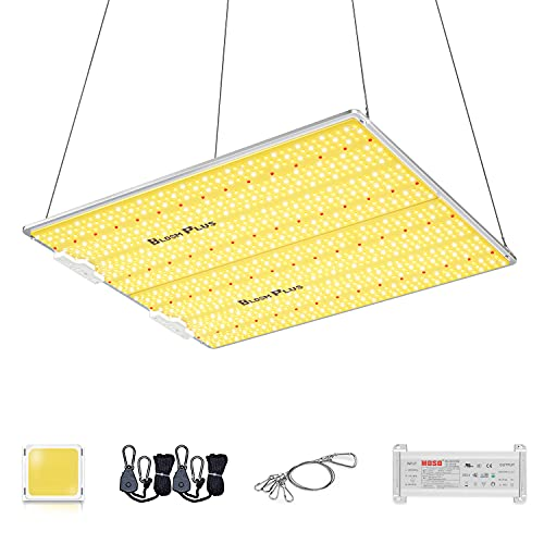 Bloom Plus LED Grow Light BP4000 400W 5x5ft Coverage Full Spectrum Use with Samsung Diodes Dimmable Plant Grow Lamp for Indoor Plants Seeding Veg and Bloom