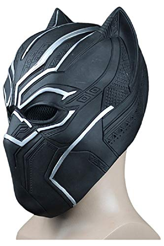 RedJade Avengers 3 Captain America Civil War Black Panther enmascarar Pantera Negra Cosplay Maske