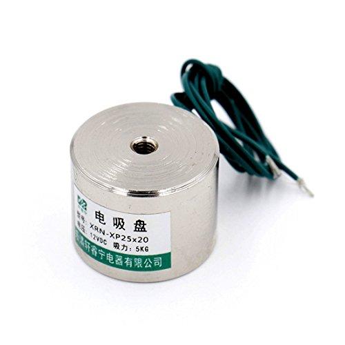 Elektromagnet 11 LB DC12V haltenden Elektromagneten Aufzug Magnet Elektromotor
