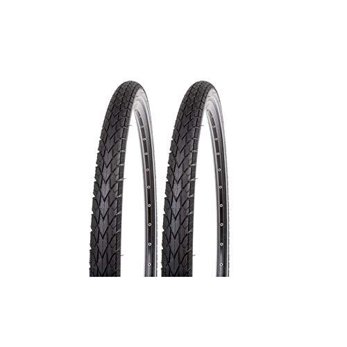 P4B | 2X 28 Zoll Fahrradreifen - Set (42-622) | 28 x 1.60 | Mit K-Shield Pannenschutz und Reflexstreifen für mehr Sicherheit (D) 2X Reifen