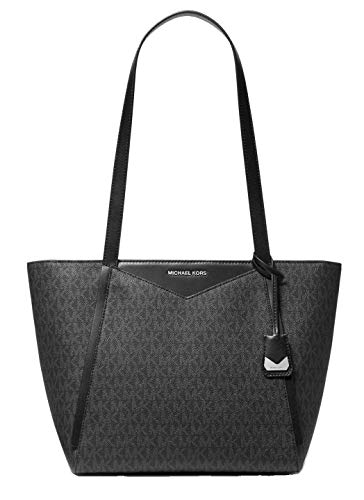Michael Kors Whitney Small Logo Tote Bag, Nero