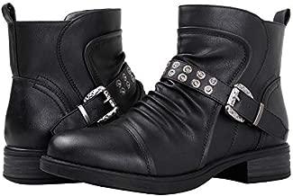GLOBALWIN Women's 18YY31 Black Fashion Boots 8M
