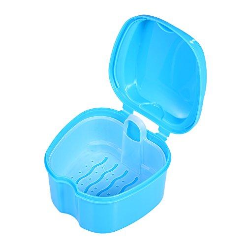 Anself Zahnprothesen-Box Container zur Aufbewahrung und Transport