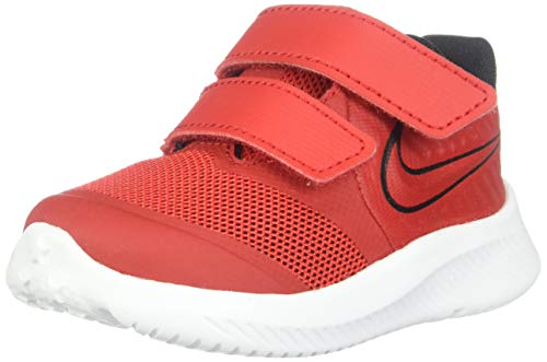 Nike Star Runner 2, Running Shoe Unisex niños, University Red/Black-Volt, 22 EU