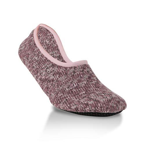 World's Softest Socks Ragg Slippers Weekend Collection, Abigail (Medium)