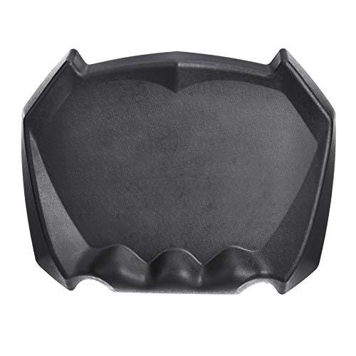 AmazonCommercial - Miniesterilla antifatiga con diseño dimensional para estar de pie, 60x47cm, color negro, pack de1