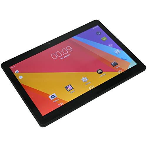 Andifany 10.1 Pulgadas 7.0 Pantalla IPS Tableta Octa Core MT6580 1GB ROM 16GB 3G Tarjeta SIM Dual TeléFono 3G Llamada WiFi Tabletas PC Enchufe de la UE Negro