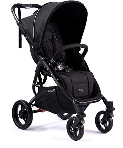 Valco Baby Snap4 Single Stroller Snap (Coal Black)