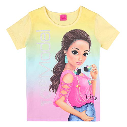 Top Model Mädchen T-Shirt, gelb, Größe 152, 12 Jahre