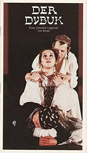Programmheft DER DYBUK von Anski Premiere 12 April 1979 Spielzeit 1978 / 79