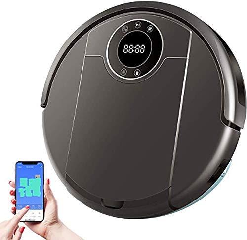 CHUTD Robot Stofzuiger, Wifi App, 3000Pa Zuigen, Map Navigatie, Smart Memory, UV Lamp, Wet Dry Mop, Borstelloze Motor