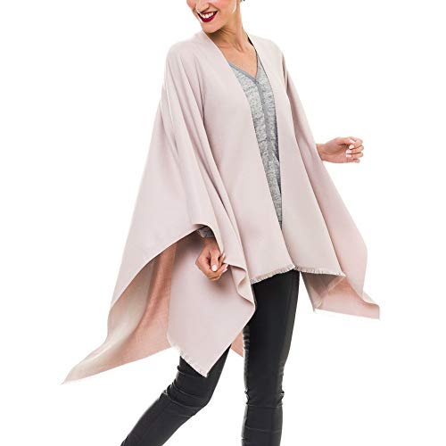 MELIFLUOS DESIGNED IN SPAIN Poncho Estola Capa Mujer: