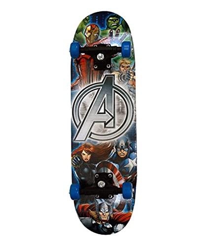 GOROLY Wave Board Skate Board with Carry Bag | LED Flash Colorful Lights in Wheels |(Variation Color Design) for Outdoor for Kids |Skates for KidSSS (Mini Skate)(Multi Design)
