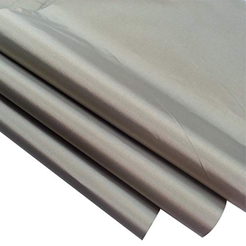 Emf Protection Fabric,RFID EMF Shielding Nickel Copper Fabric Signal Blocking Material 1 Yard,EMF Shielding, Cell Phone Signal Blocking,Bluetooth Block.Military Grade Shielding Fabric (44in W x 36in L)