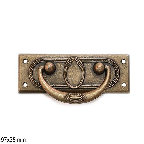Antikmöbel Griff Schlüsselschild (2453)