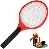 AsisNai Electric Fly Swatter Bug Zapper Mosquito Killer - 3000 Volt Zap Racket, Will Even Kill Cockroaches. Made from...