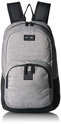 RVCA Herren Estate Backpack II Rucksäcke, Grey Heather, Einheitsgröße