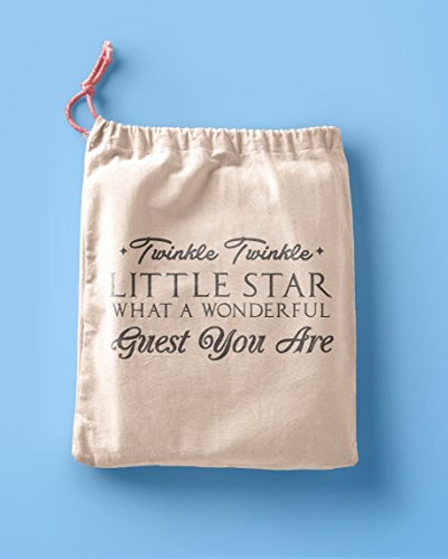 Twinkle Twinkle Little Star Favor Bags - Party Favor bags - Muslin Cotton Bags - Birthday party Bags - Poem Favor Bags