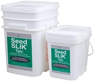 Precision Brand - Seed Slik Talc Dry Powder Lubricants Seed Slik Talc 8# Pail Superior Graphite #30732R: 605-45540 - seed slik talc 8# pail superior graphite #30732r