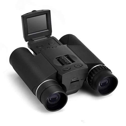 LTGJJ Digitale LCD-verrekijker met digitale camera voor buiten, visueel instrument, waterdicht verrekijker met nekband en nachtzicht, Birdwatching, jachtconcert