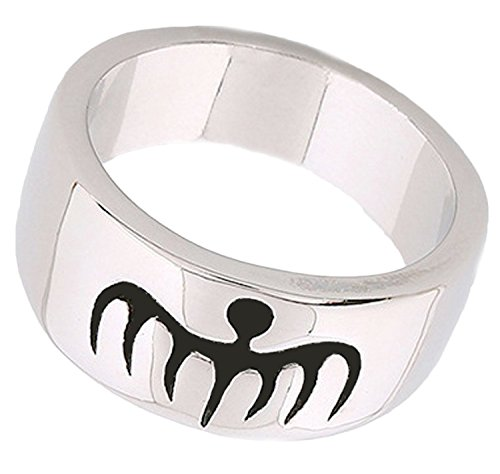 Orion Creations Spectre Ring. Versilbert. 007 James Bond