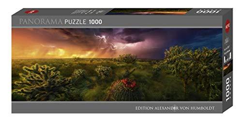 HEYE 29817 Stormy Horizon Panorama 1000 Teile, Edition Alexander von Humboldt, Black