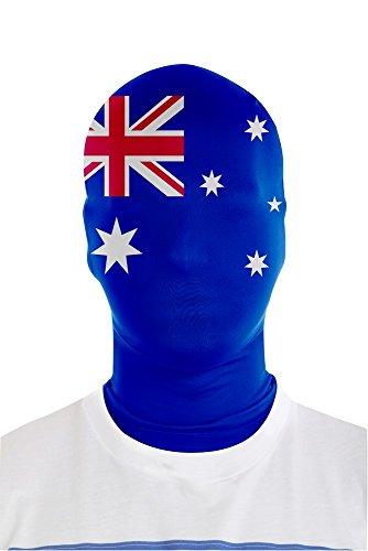 Morphsuits Australie Drapeau Morph Masque (Taille Unique)