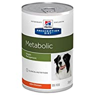 Hills Prescription Diet Canine Metabolic Weight Management, Canned Wet Dog Food 370g - Chicken (Pack...
