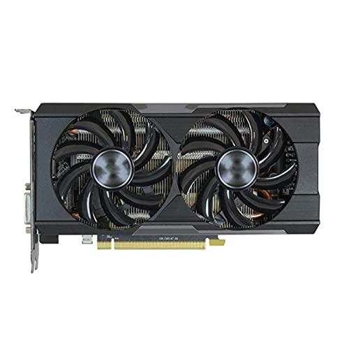 WERTYU Fit for Sapphire R9 370 4GB Tarjetas de Video GPU AMD Radeon R7 370X R9370 R7 370X Tarjetas gráficas Pantalla Videojuego Computadora de Escritorio PC PCI-E