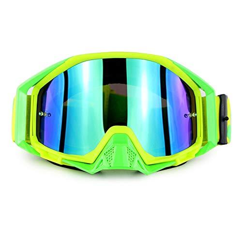 Lunettes de Ski de Snowboard Protection UV Anti-buée Lunettes de Ski de Snowboard Ventilation améliorée Coupe-Vent pour Homme,Femmes,Compatible avec Le Casque Lunettes de Neige,F