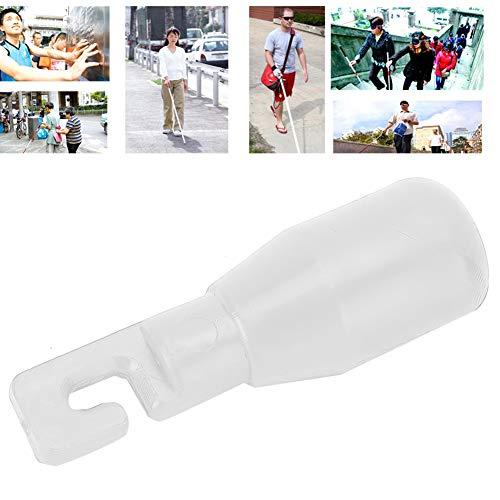 2 piezas punta de caña tipo gancho de punta de caña accesorio de repuesto para bastón de caminar ciego (02)