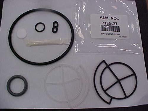 Kenmore 7185487 Water Softener Seal Kit Genuine Original Equipment Manufacturer (OEM) Part Black and White
