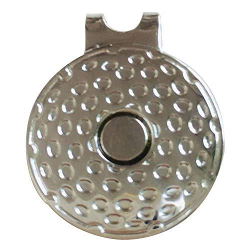 Almabner Magnetische Hut-Clips für Metall-Golfball-Marker, tragbare Mini-Klemme für Golfball-Marker, 2, Free Size