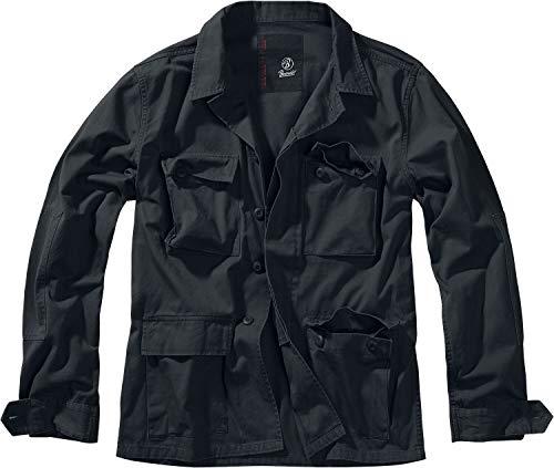 Brandit BDU Twill Jacket Männer Übergangsjacke schwarz 4XL 100% Baumwolle Basics