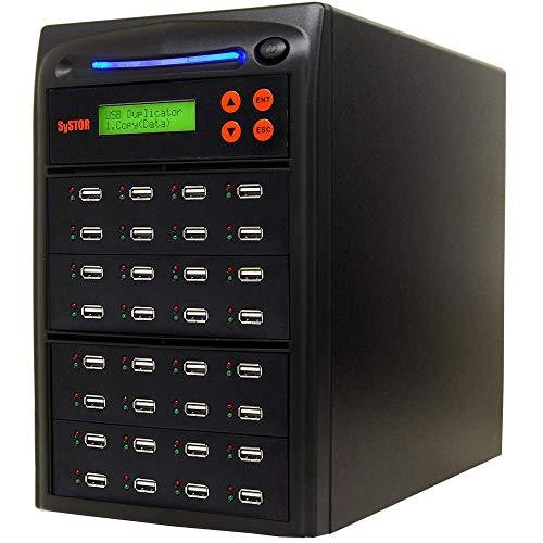 SySTOR 1 bis 31 Mehrfach-USB-Duplikator/USB-Flash Kartenkopierer (SYS31USB)