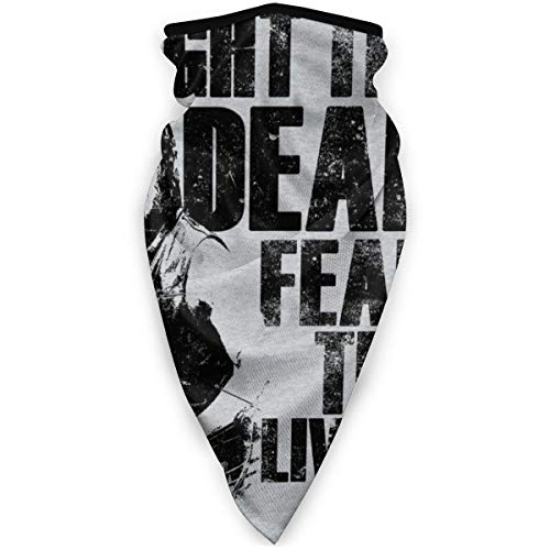 BUGKHD Walking Dead Daryl Fight The Dead Fear The Living Variety Kopfbedeckung Halstuch Bandana Schal