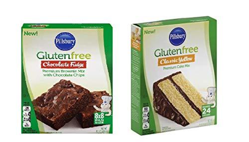 Gluten Free Combo - Chocolate Fudge Brownie and Classic Yellow Cake MIX
