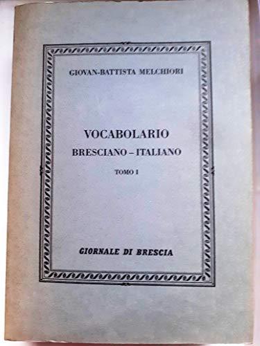 VOCABOLARIO BRESCIANO-ITALIANO