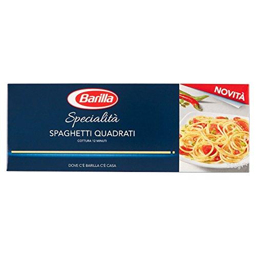 Barilla Pasta Specialità Spaghetti Quadrati Semola Di Grano Duro, 500 gr