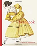 Notebook: Dancing couple, Costumes of Lima, Peru, Watercolor, ca. 1860, Man in brown coat...