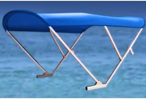 8'W Max 56% OFF x 10'L Power Bimini Top Pontoon New York Mall Boat