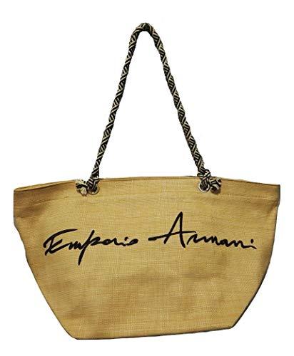 Emporio Armani - Bolso al hombro de Sintético para mujer Negro Size: 60 * 31 * 30