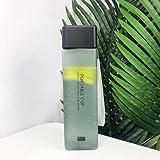Mdsfe 500ml Nueva Botella de Agua esmerilada Cuadrada Taza de Agua cinturón portátil a Prueba de Fugas Taza Deportiva Botella de Agua Resistente a Altas temperaturas - 480ML, Verde