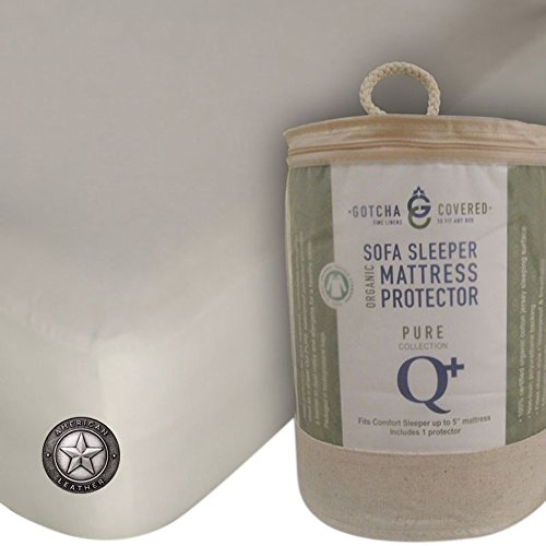Gotcha American Leather Comfort Sleeper Mattress Protectors Queen Plus Natural