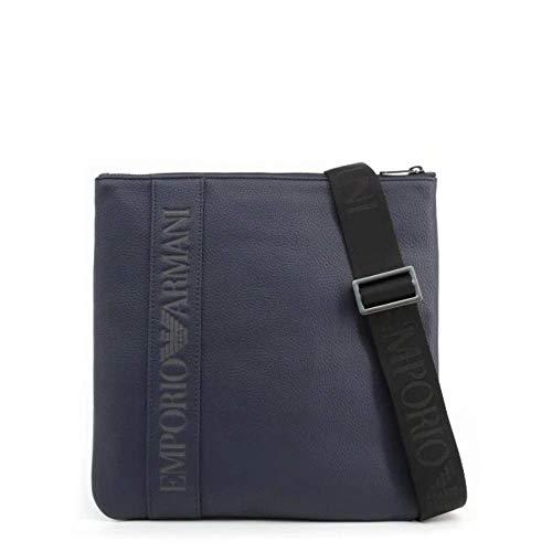 Emporio Armani - Bolso al hombro para hombre Azul Size: talla de un talla