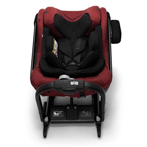 AXKID ONE+, Silla de Coche Grupo 0, 1 y 2, Asiento de Automóvil para Niños de 0-23 Kg, Sillita para Coche, Silla de Coche de Bebé de 0 a 7 Años (Rojo)